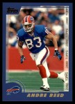 2000 Topps #15  Andre Reed  Front Thumbnail