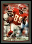 1999 Topps #8  Andre Rison  Front Thumbnail