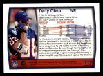 1999 Topps #117  Terry Glenn  Back Thumbnail