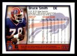 1999 Topps #127  Bruce Smith  Back Thumbnail