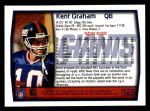 1999 Topps #162  Kent Graham  Back Thumbnail