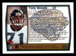 1999 Topps #204  Tony Boselli  Back Thumbnail