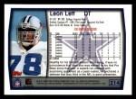 1999 Topps #214  Leon Lett  Back Thumbnail