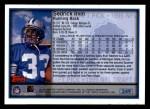 1999 Topps #349  Sedrick Irvin  Back Thumbnail