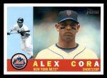 2009 Topps Heritage #508  Alex Cora  Front Thumbnail
