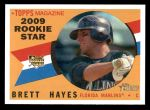 2009 Topps Heritage #531  Brett Hayes  Front Thumbnail