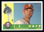 2009 Topps Heritage #585  J.A. Happ  Front Thumbnail