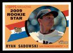 2009 Topps Heritage #677  Ryan Sadowski  Front Thumbnail