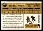2009 Topps Heritage #682  Scott Podsednik  Back Thumbnail