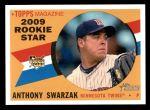 2009 Topps Heritage #514  Anthony Swarzak  Front Thumbnail