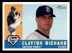 2009 Topps Heritage #542  Clayton Richard  Front Thumbnail