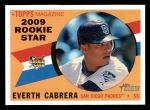 2009 Topps Heritage #568  Everth Cabrera  Front Thumbnail