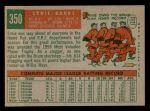 1959 Topps #350  Ernie Banks  Back Thumbnail