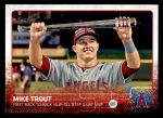 2015 Topps Update #227  Mike Trout  Front Thumbnail