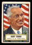 1952 Topps Look 'N See #5  Harry Truman  Front Thumbnail