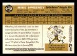 2009 Topps Heritage #645  Mike Sweeney  Back Thumbnail