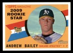 2009 Topps Heritage #511  Andrew Bailey  Front Thumbnail