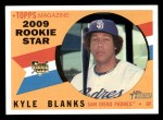 2009 Topps Heritage #706  Kyle Blanks  Front Thumbnail