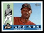 2009 Topps Heritage #630  LaTroy Hawkins  Front Thumbnail