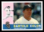 2009 Topps Heritage #516  Bartolo Colon  Front Thumbnail
