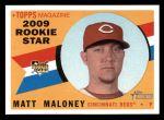 2009 Topps Heritage #638  Matt Maloney  Front Thumbnail