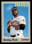 2019 Topps Heritage #470  Starling Marte  Front Thumbnail