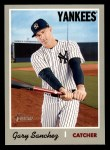 2019 Topps Heritage #418  Gary Sanchez  Front Thumbnail