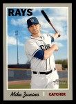 2019 Topps Heritage #158  Mike Zunino  Front Thumbnail