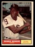 1961 Topps #380  Minnie Minoso  Front Thumbnail