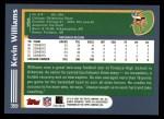 2003 Topps #359  Kevin Williams  Back Thumbnail