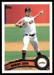2011 Topps #22  Barry Zito  Front Thumbnail
