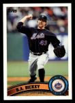 2011 Topps #66  R.A. Dickey  Front Thumbnail