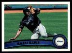 2011 Topps #588  Rajai Davis  Front Thumbnail