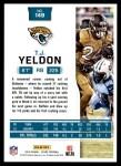 2016 Score #149  T.J. Yeldon  Back Thumbnail