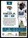 2016 Score #156  Dante Fowler Jr.  Back Thumbnail