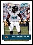 2016 Score #156  Dante Fowler Jr.  Front Thumbnail