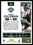 2016 Score #363  Corey Coleman  Back Thumbnail