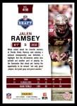 2016 Score #418  Jalen Ramsey  Back Thumbnail
