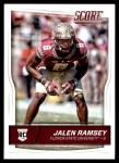2016 Score #418  Jalen Ramsey  Front Thumbnail