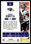 2016 Score #29  Jimmy Smith  Back Thumbnail