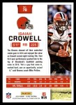 2016 Score #78  Isaiah Crowell  Back Thumbnail