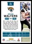 2016 Score #154  Bryan Walters  Back Thumbnail