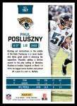 2016 Score #157  Paul Posluszny  Back Thumbnail