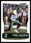 2016 Score #363  Corey Coleman  Front Thumbnail