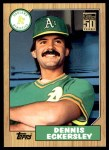 2001 Topps Traded #125 T  -  Dennis Eckersley 87  Front Thumbnail