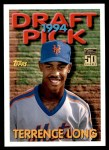 2001 Topps Traded #140 T  -  Terrence Long 94  Front Thumbnail
