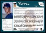 2001 Topps Traded #228 T Bob Keppel  Back Thumbnail