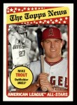 2018 Topps Heritage #47  Mike Trout  Front Thumbnail