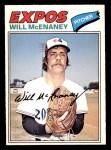 1977 O-Pee-Chee #50  Will McEnaney  Front Thumbnail