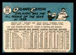 1965 Topps #360  Orlando Cepeda  Back Thumbnail